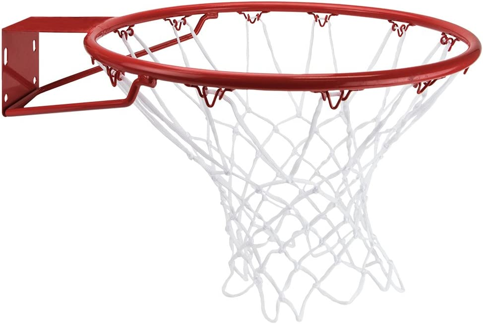 Crown Sporting Goods White Nylon Basketball Net
