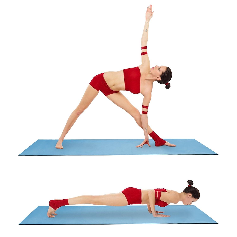 AMOS Esterilla de Yoga Estera Antideslizante de Deporte Gimnasio Pilates Ejercicio Entrenamiento Colchoneta de Espuma EVA 6mm Grueso 173cm x 61cm ...
