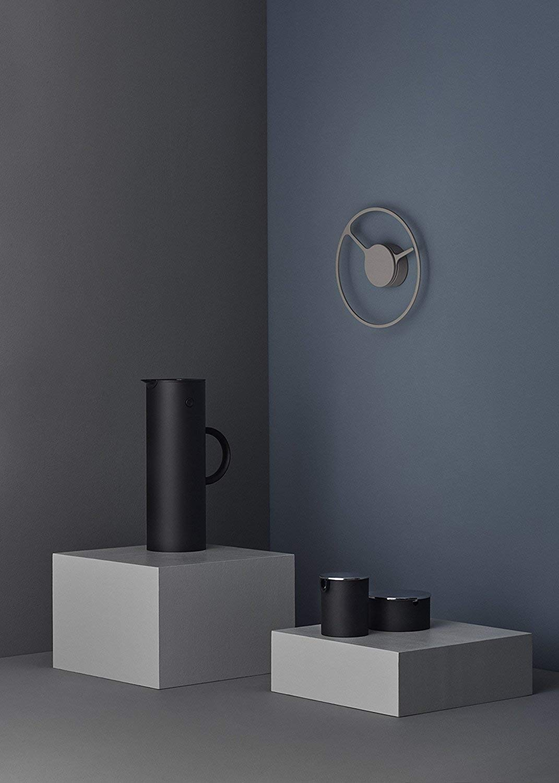 Stelton EM77 Vacuum Jug, 33.8 oz, soft black