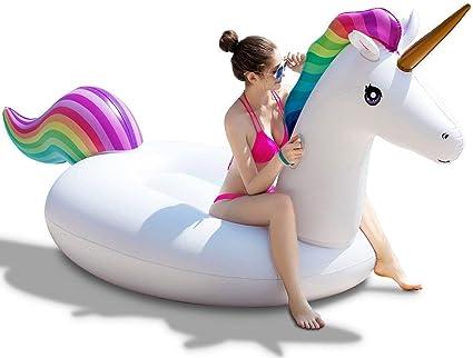 Amazon.com: Jasonwell - Flotador inflable para piscina ...