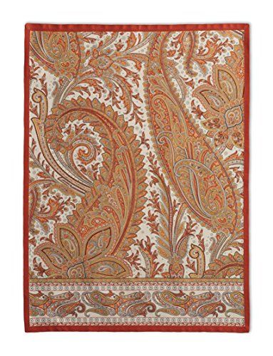 Maison d' Hermine Kashmir Paisley 100% Cotton Set of 2 Kitchen Towels, 20 - inch by 27.5 - inch (Dish Cotton Paisley)