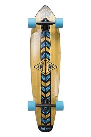 Quest 'Totem Longboard Skateboard, 36', Natural