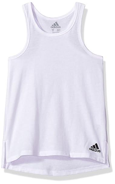 adidas Niñas AA4502 Camisa deportiva - Blanco - S: Amazon.es: Ropa y accesorios