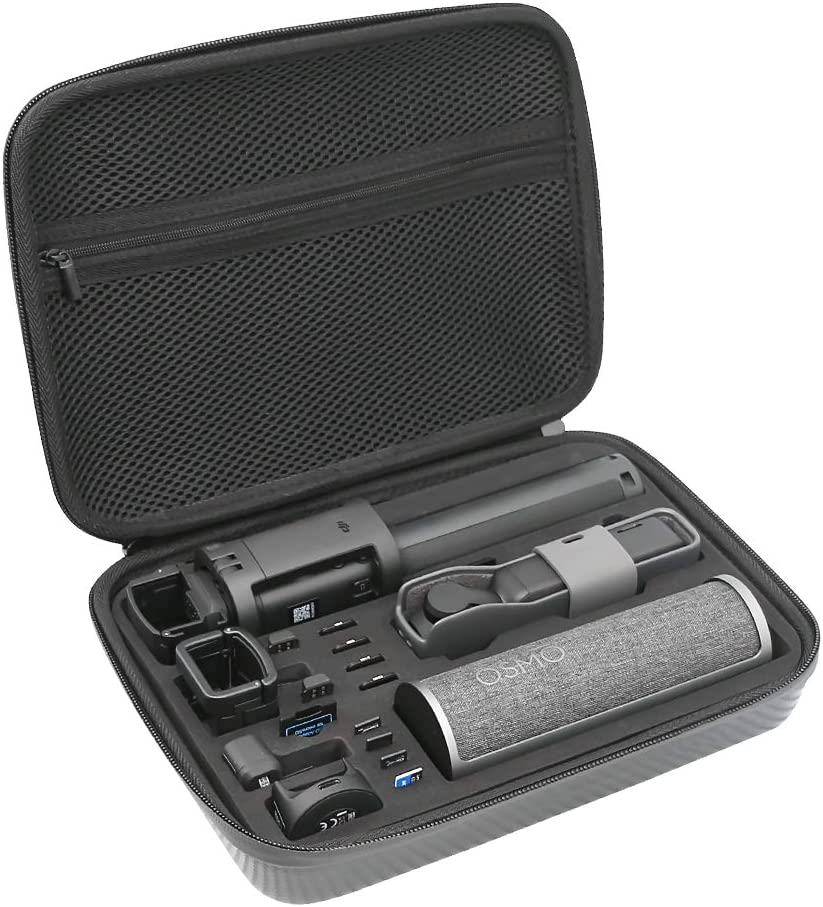 SUREWO Surface-Waterproof Carrying Case,Travel Storage Bag Compatible with DJI Osmo Pocket,DJI Pocket 2(Medium)