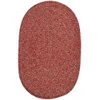 Softex Check Rug, 2 by 4-Feet, Sangria Check