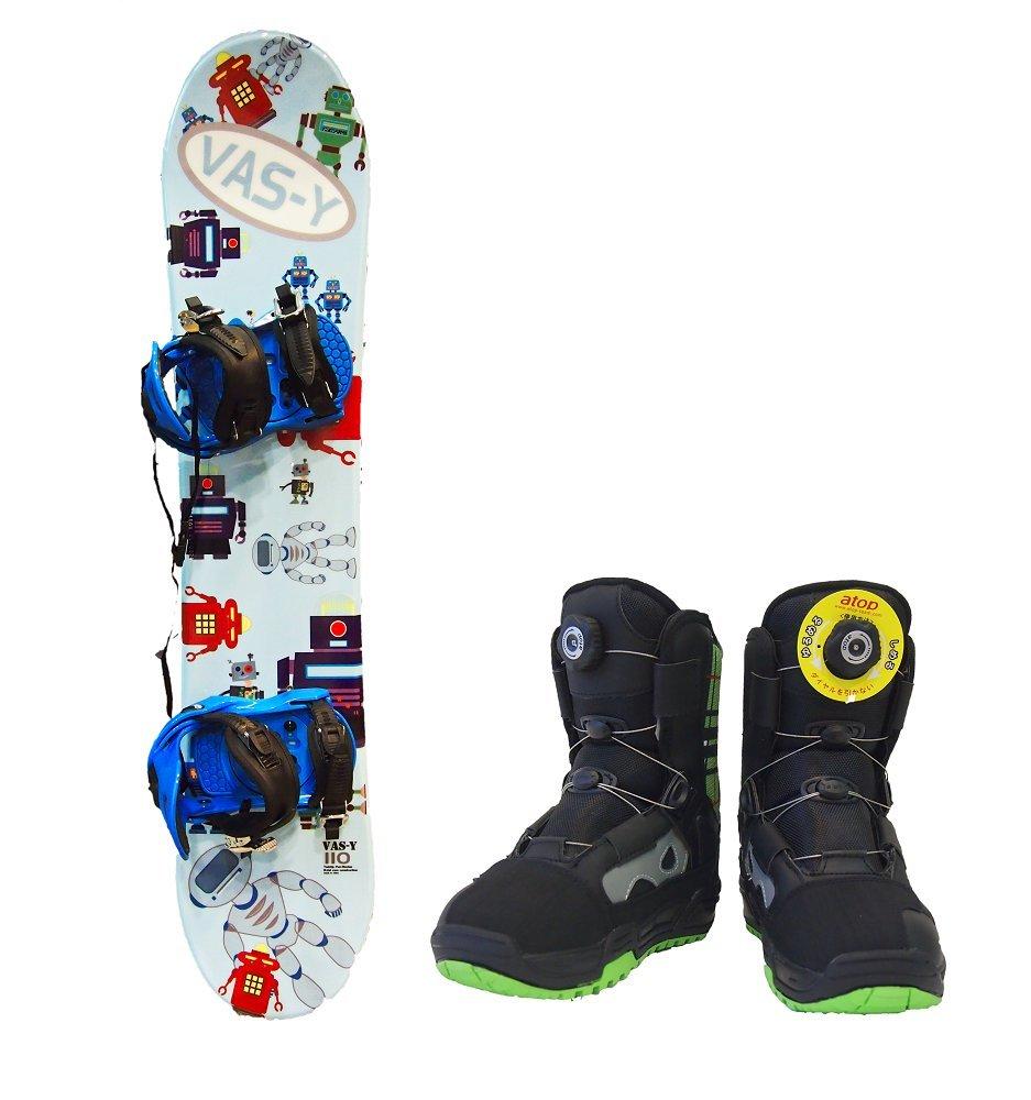 VAS-Y BRAND ジュニアスノーボード 3点セット