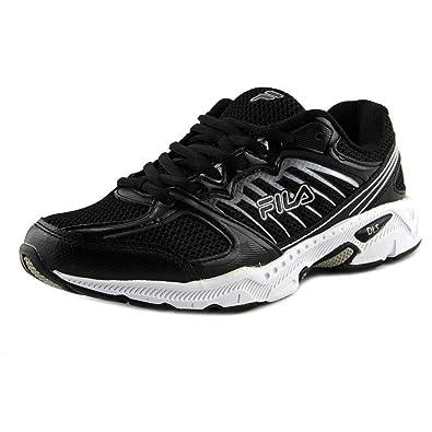 Mens Fila Tempo Sneakers Castlerock/Black/Fila Red XPF11242