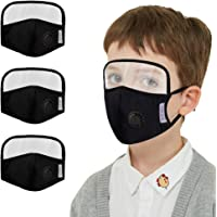 Gurfitra_Pillow 5PCS Cotton Dustproof Outdoor Face Protective Face Guard with Eyes Shield, Mouth Protectives