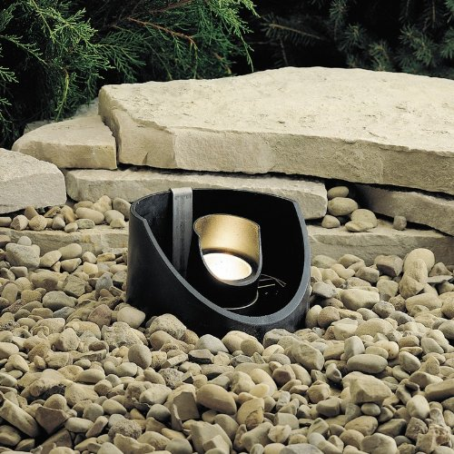 Kichler 15092BKT One Light In-Ground by Kichler Lighting