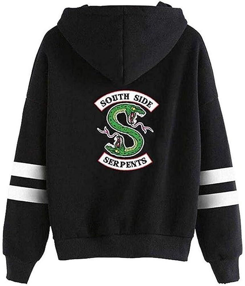 Unisex Riverdale South Side Long Sleeve Sport Pullover Hoodie Sweatshirt