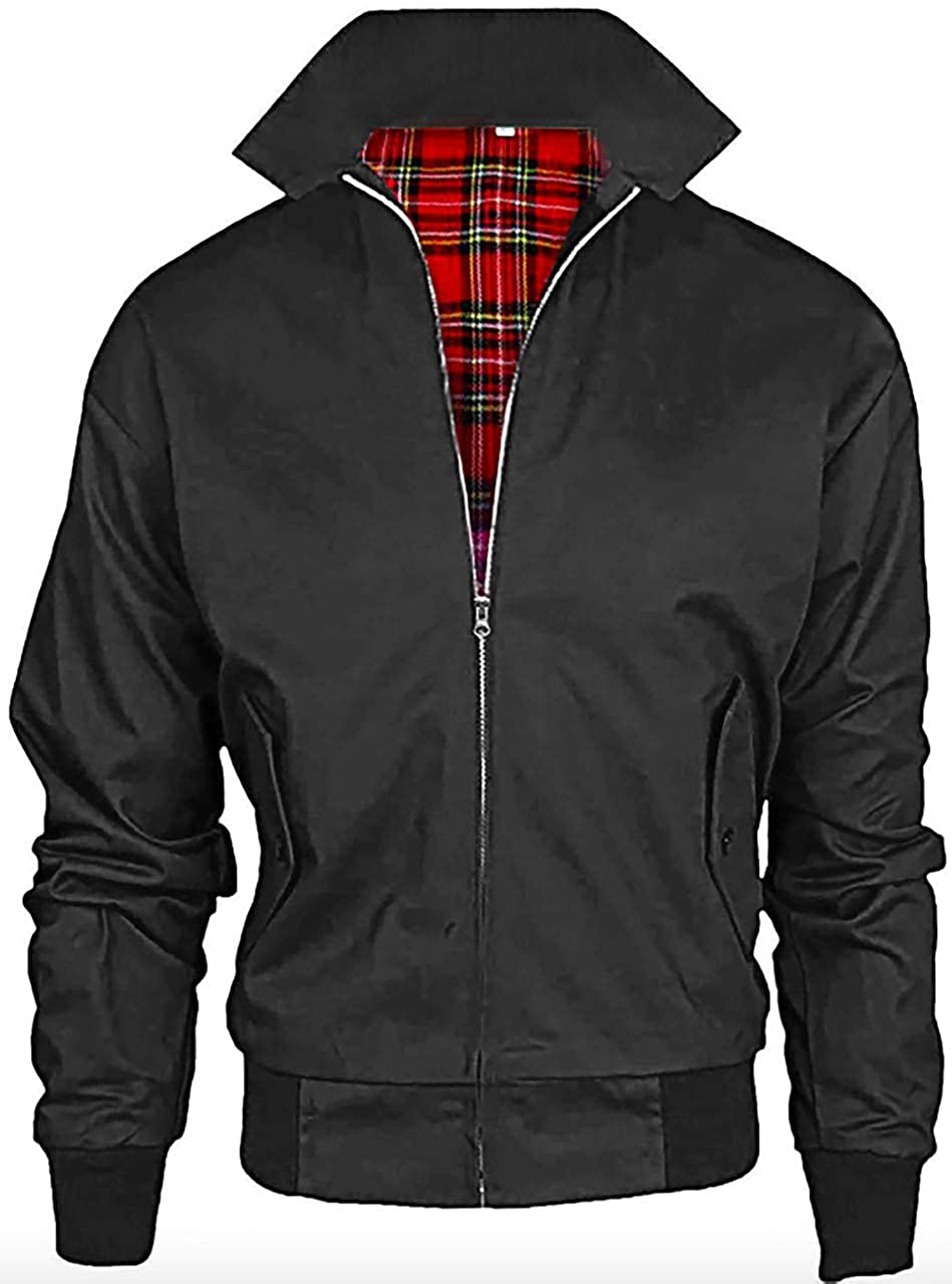 02ed9565e Mountain Pass Men's Vintage Harrington British Made Harrington Jacket