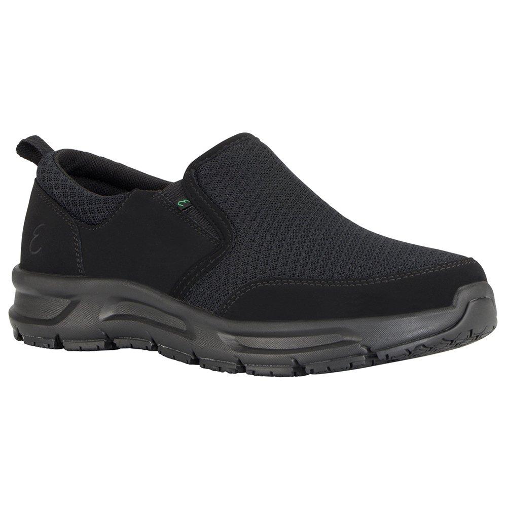 Emeril Lagasse Women's Quarter Slip-on Mesh Food Service Shoe, Black, 7 M US