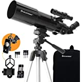 Celestron - 80mm Travel Scope - Portable Refractor Telescope - Fully-Coated Glass Optics - Ideal Telescope for Beginners…