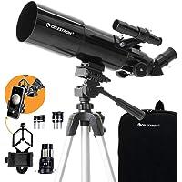 Celestron - 80mm Travel Scope - Portable Refractor Telescope - Fully-Coated Glass Optics - Ideal Telescope for Beginners…