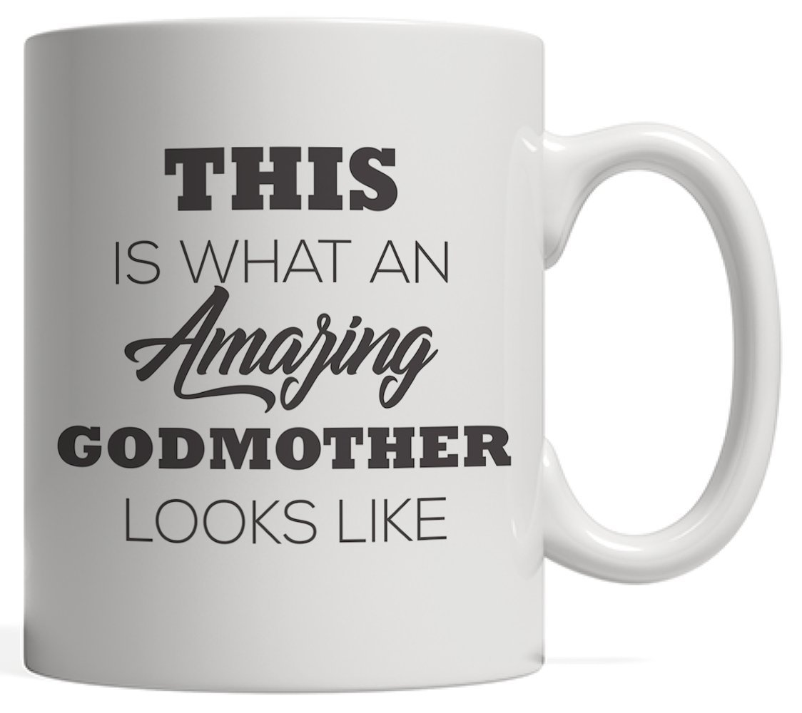 Amazon.com: Best Godmother Mothers Day Mug Funny Mother\'s ...