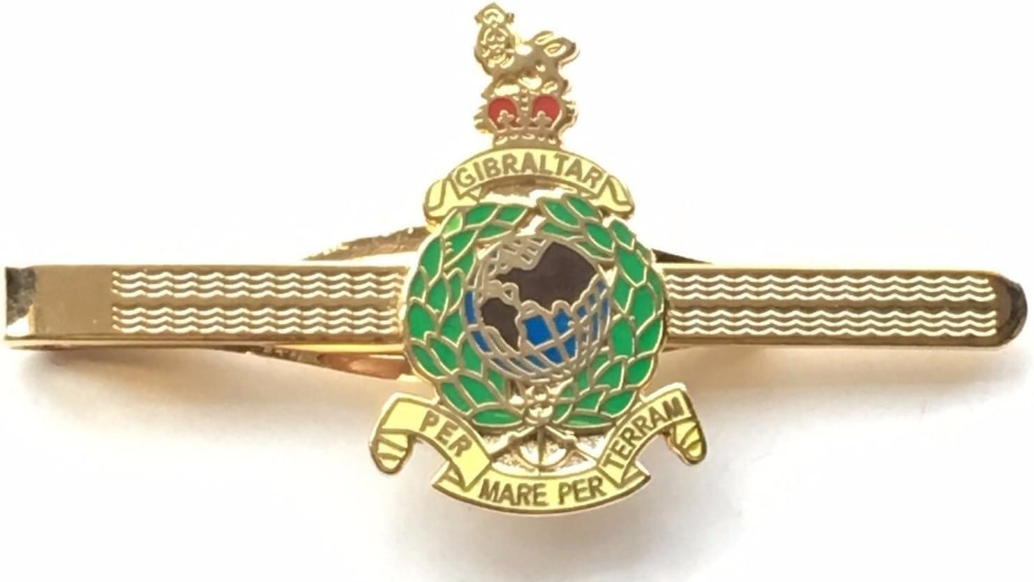 EN CAJA DE REGALO MILITAR Royal Marines ESMALTADO CON ESCUDO ALFILER DE CORBATA (n148): Amazon.es: Hogar