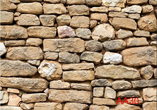 7x5ft Stone wall Thin Vinyl Customized Backdrop CP Photography Prop Photo Background AA30