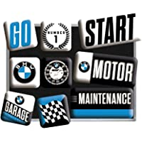 Nostalgic-Art 83097 BMW -Motor, Magneet Set (9st)