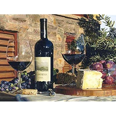 Jigsaw Puzzle for Adults Puzzle Wooden Classic Puzzle DIY Collectibles Home Decoration - Red Wine and Fruit - 500 Tablets: Toys & Games [5Bkhe0201132]
