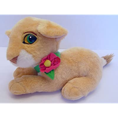 "9"" The Lion King Purring Nala Plush: Toys & Games"