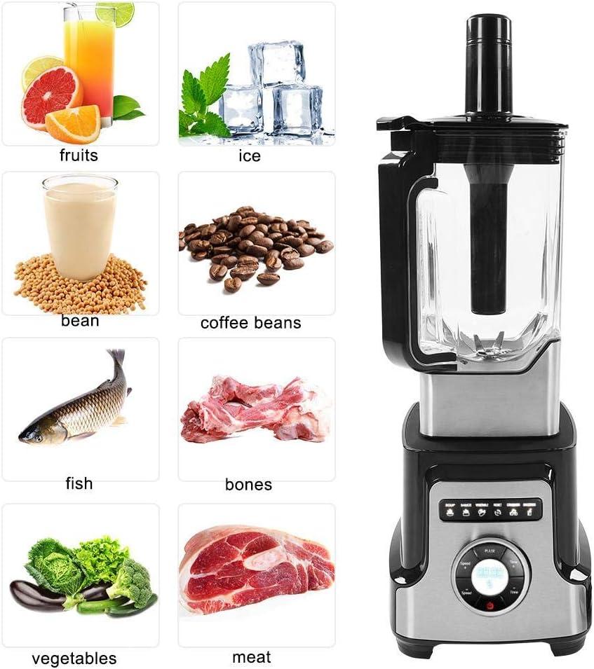 2200W Exprimidor multifuncional para licuadora de frutas y verduras, mezclador de jugos, batidor de frutas para uso ...