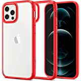 Spigen Ultra Hybrid Designed for iPhone 12 Case (2020) / Designed for iPhone 12 Pro Case (2020) - Red