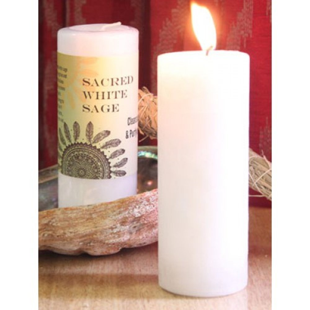 World Magic - Sacred White Sage Candle Coventry Creations W-SWS