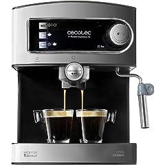 Cafeteras para espresso y capuchino