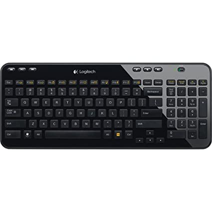Amazon.com  Logitech K360 Wireless USB Desktop Keyboard — Compact ... ba01d8e8336c0