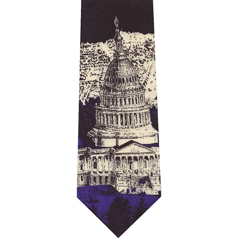 Novedad corbata Washington DC Capital poliéster corbata para ...