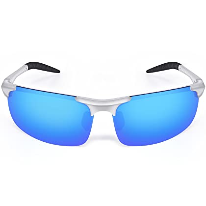 989ce0a33f Goliath Ronin Polarized Sports Sunglasses Eyewear with Protective Bag for Men  Women