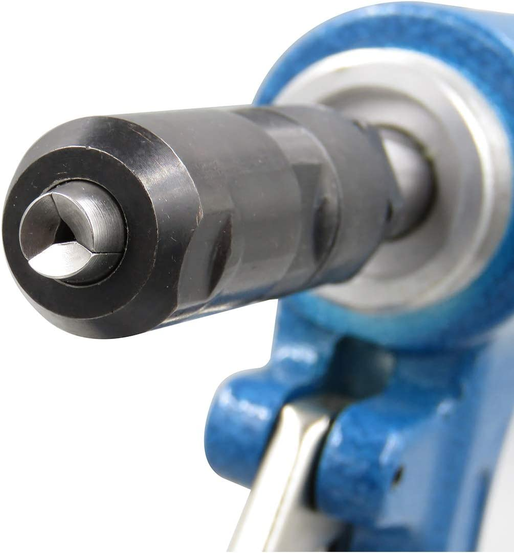Industrial Grade Three-jaw Riveting Tool Hand Tools Industrial Portable Practica Pneumatic Products Hydraulic Pneumatic Rivet Color : Blue Stainless Steel Blind Rivet