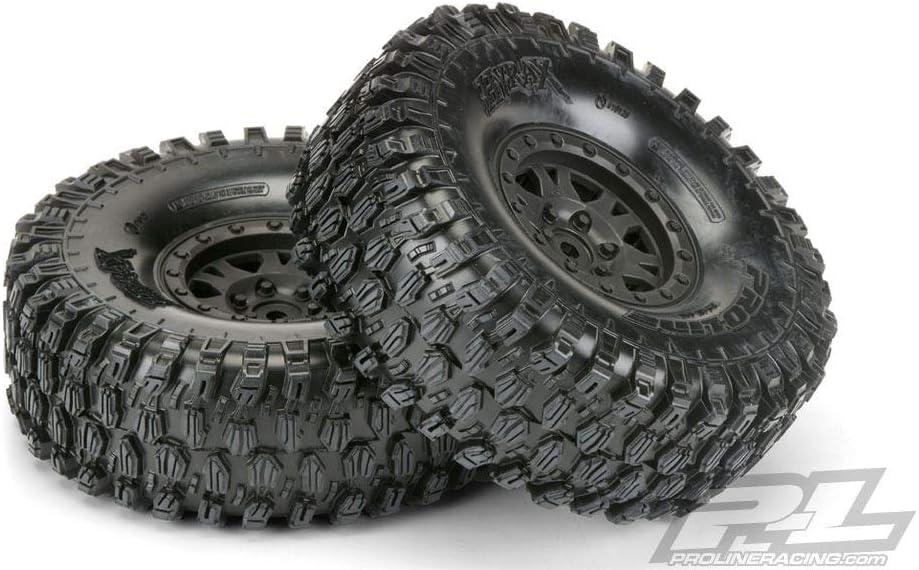 Pro-line Racing Hyrax 1.9 G8 Mtd Impulse Black Whls (2), PRO1012810
