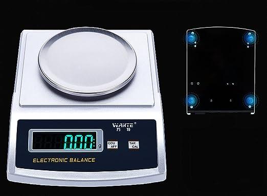 BAOSHISHAN - Báscula de equilibrio electrónico de laboratorio digital de alta precisión, balanzas de joyería, básculas de precisión para cocina: Amazon.es: ...