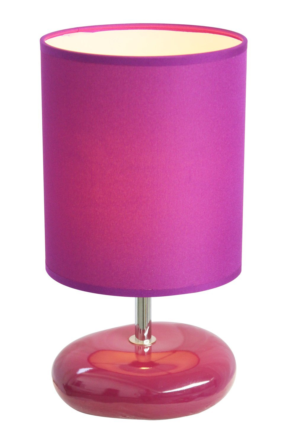 Simple designs lt2005 prp stonies small stone look table lamp simple designs lt2005 prp stonies small stone look table lamp purple small lamps for bedroom amazon geotapseo Gallery