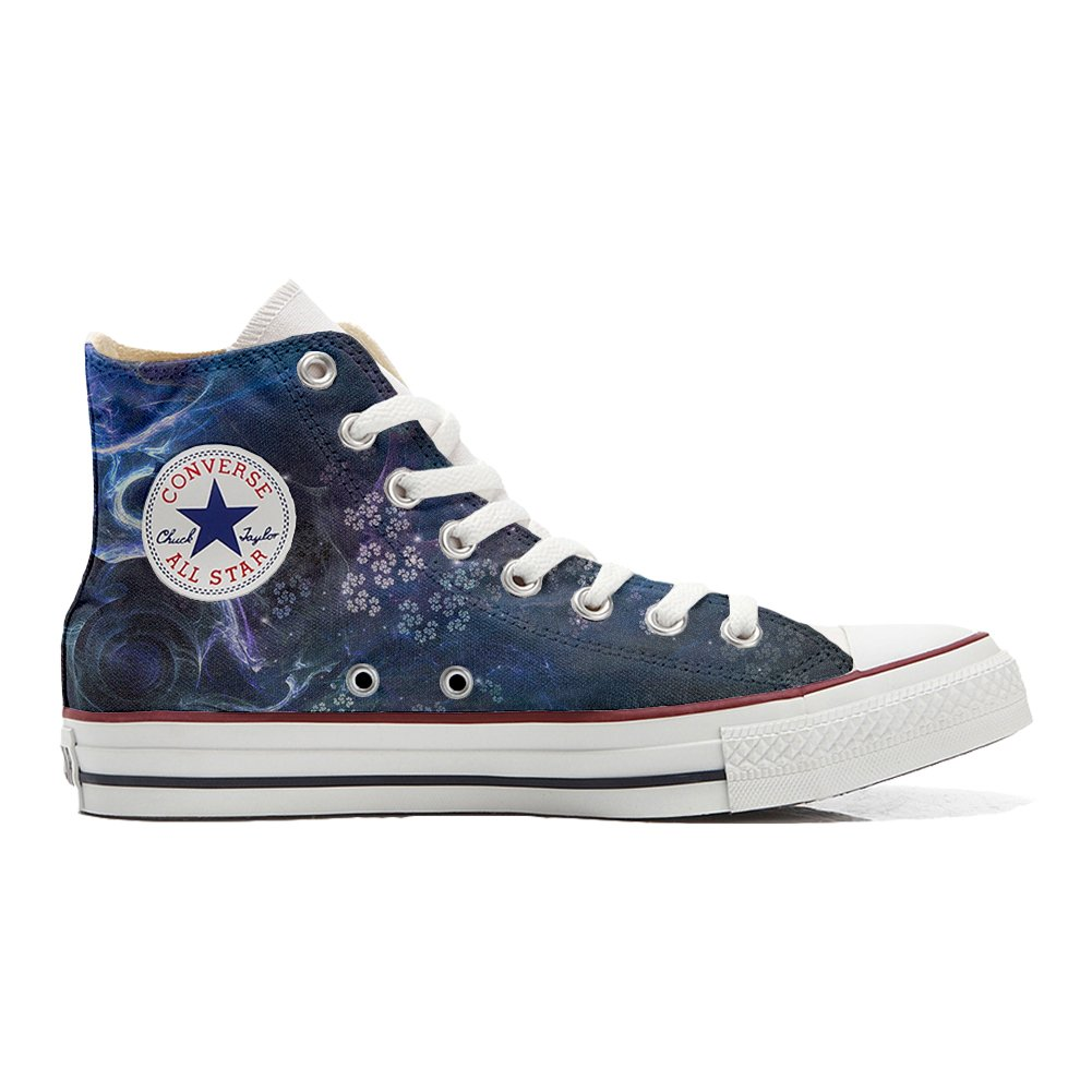 Converse Customized Unisex - Chaussures Coutume (Produit Artisanal) Infinity Texture