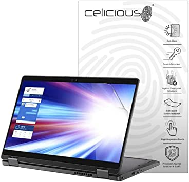 Celicious Matte Anti-Glare Screen Protector Film Compatible with Dell Latitude 13 3380 Pack of 2 Touch