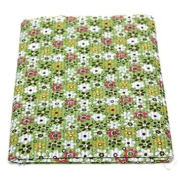 Paleo 8pcs muñecas de tela de algodón 40x50cm flor verde de ...