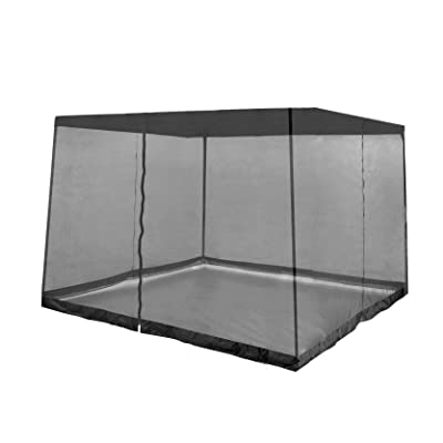 Z-Shade Bug Screen Instant Outdoor Gazebo Screenroom Only, Black: Sports & Outdoors