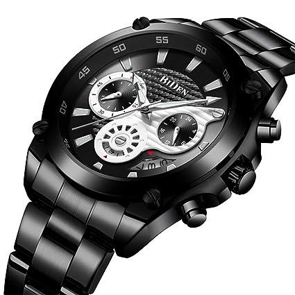 SW Watches Biden Reloj De Cuarzo para Hombre Los Mejores Relojes Deportivos para Hombre Cronógrafo De