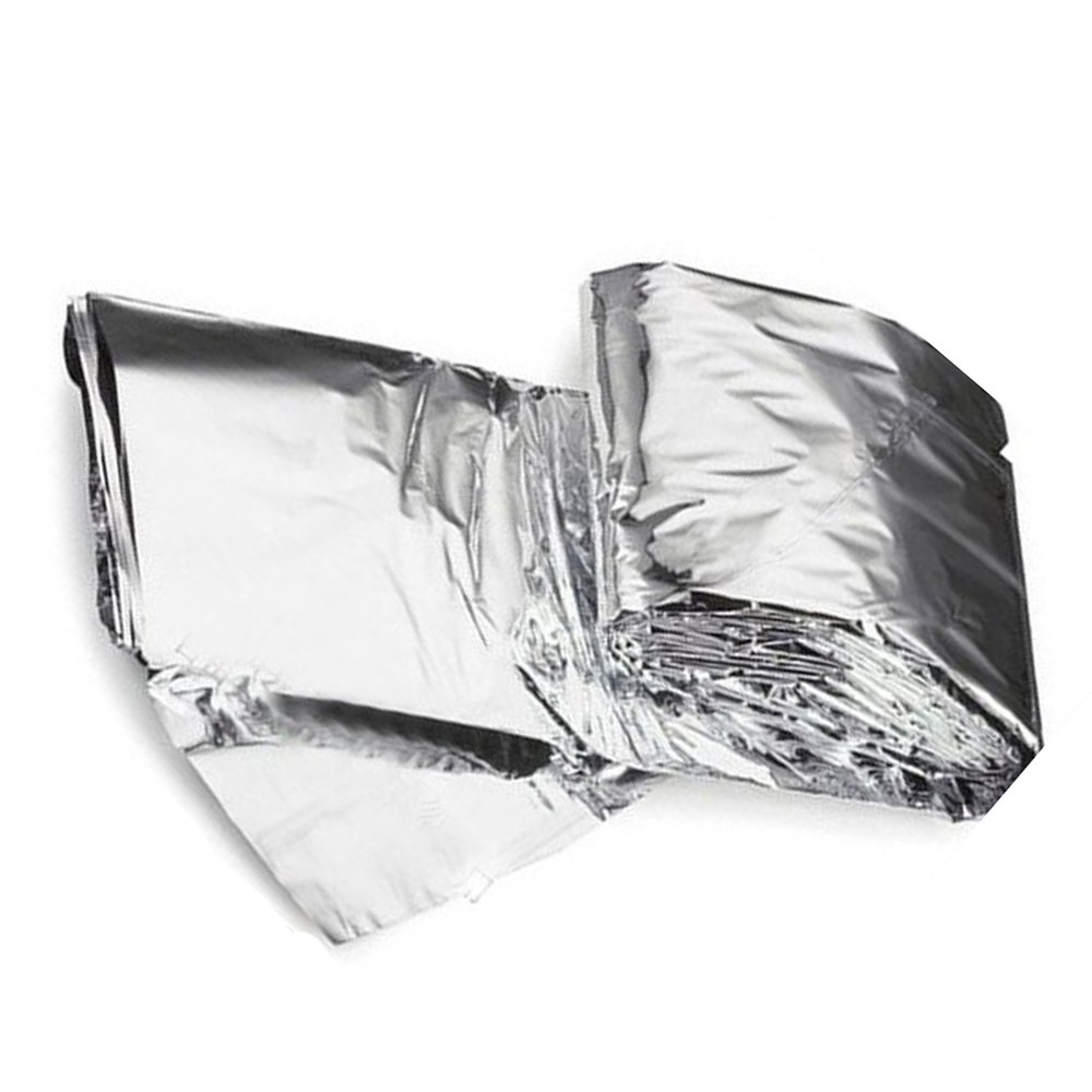 TOOGOO R Survival Blanket // Soft Emergency Cover // Rescue Blanket // Insulation Blanket // Outdoor Store for Rescue and Army 210 x 130cm Silver
