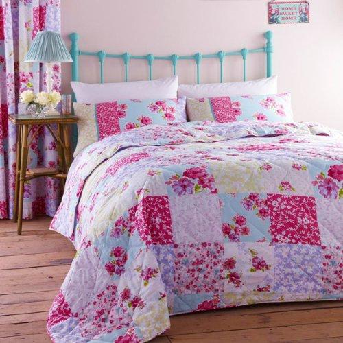 Catherine Lansfield Gypsy Patchwork Bedspread  Amazon co uk  Kitchen   Home. Catherine Lansfield Gypsy Patchwork Bedspread  Amazon co uk