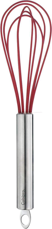 Frusta da Cucina in Silicone Acciaio Inox Cuisipro Rosso 20 cm