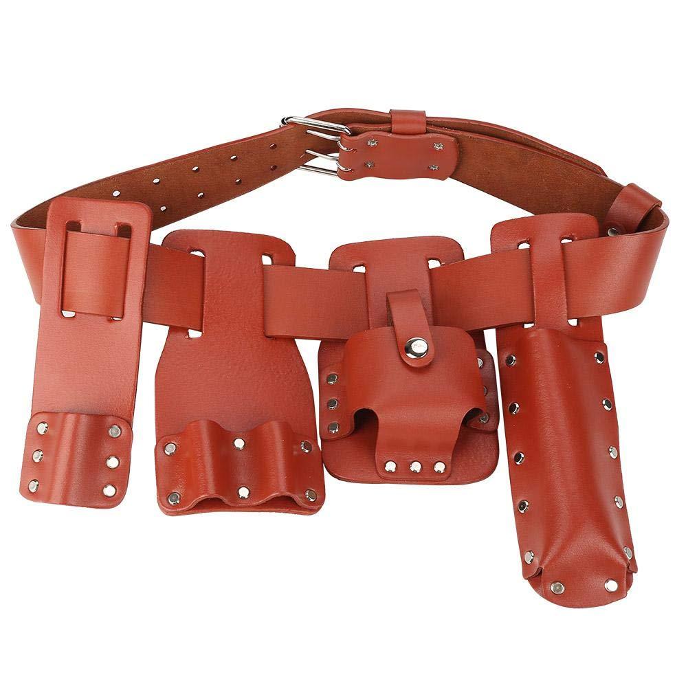 Heavy Duty Tool Belt Hammer Holder Scaffolder Steel Loop High Quality Leather