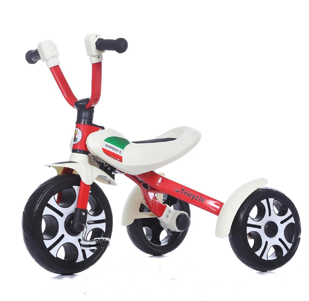 MASLEID Children tricycle Bicycle folding bike trolley Ages 2-8
