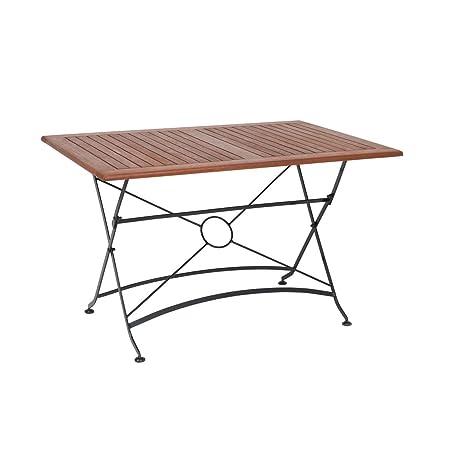 greemotion Table de jardin pliante Borkum - table de jardin 4 ...