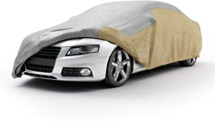 LARGE FULL CAR COVER UV PROTECTION WATERPROOF OUTDOOR INDOOR BREATHABLE