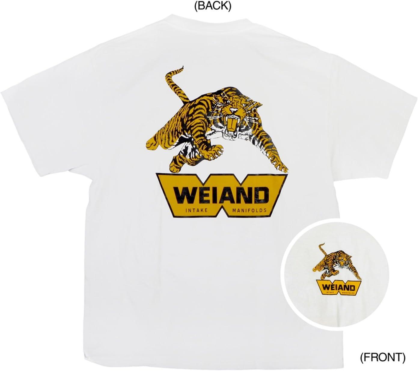 Weiand 10007-MDWND Black Medium Tiger T-Shirt
