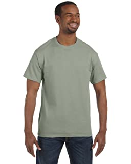 Hanes 5250 Hanes TAGLESS T-Shirt, Stonewashed Green, Size - XL (Unit
