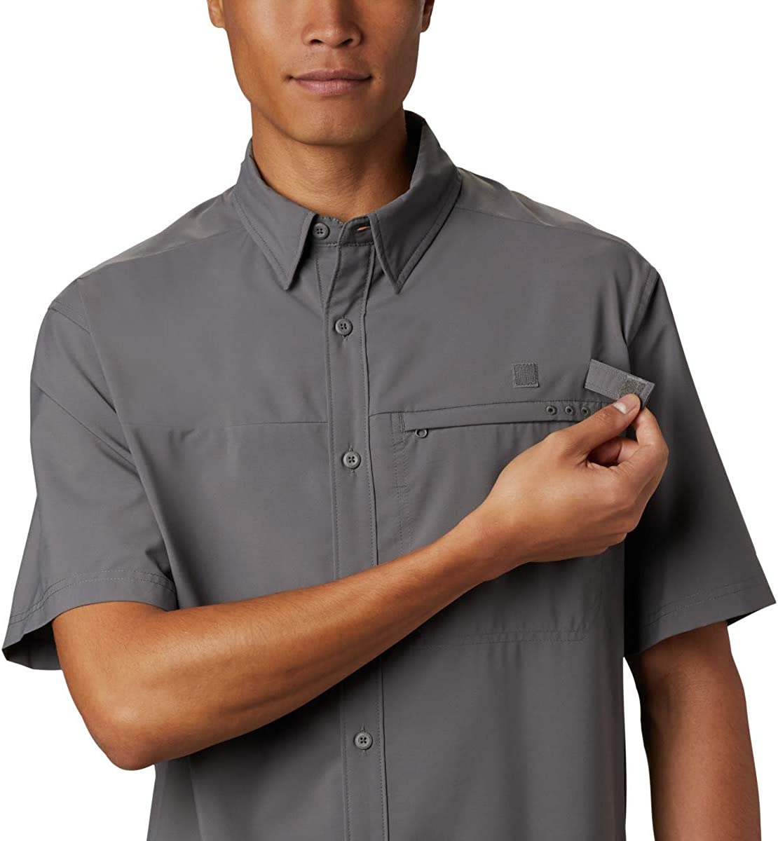 Columbia Men's Grander Marlin Woven SS: Clothing
